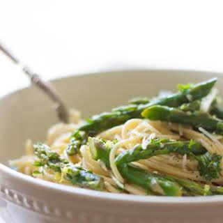 Asparagus & Lemon Pasta.
