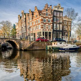 Amsterdam  by Benjamin Arthur - Buildings & Architecture Homes ( capital cities, holland, amsterdam photographer, dutch, nederlandse fotograaf )