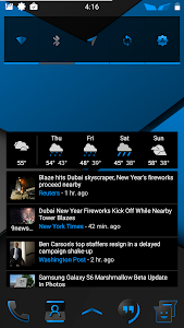 Blu XS CM12-13 Theme screenshot 13