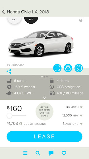 Honcker – Car Leasing App screenshot
