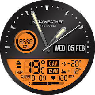 InstaWeather for Android Wear- screenshot thumbnail