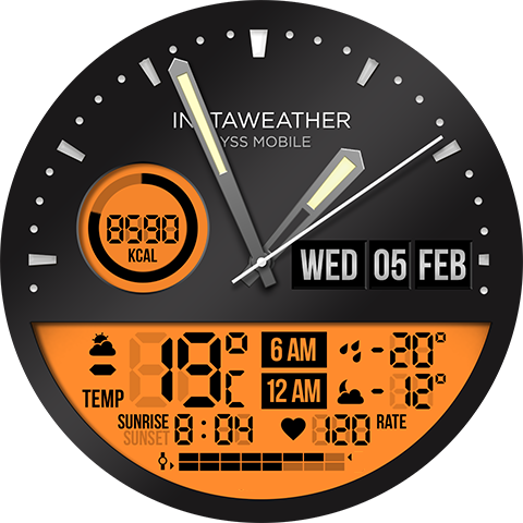 InstaWeather for Android Wear Android 11