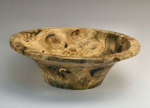 "Photo: Stan Welborn - Bowl - 10"" x 3 1/4"" - chestnut"