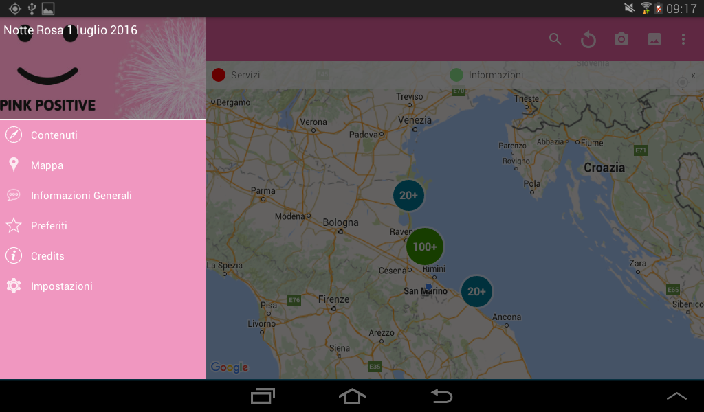 Notte Rosa- screenshot