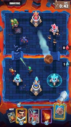 Clash of Wizards: Battle Royale  άμαξα προς μίσθωση screenshots 2