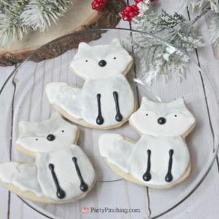 Arctic Fox Cookies.