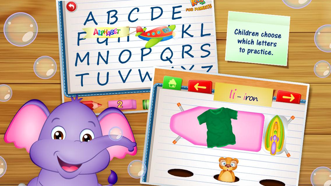 123 Kids Fun ALPHABET - English Alphabet for Kids- screenshot