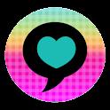KawaiiRainbow Go Sms icon