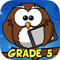 Fifth Grade Learning Games (School Edition) icon