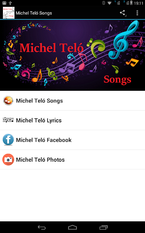 android Michel Teló Songs Screenshot 2