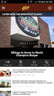Cat Country 102.9 - Billings Country Radio (KCTR)- screenshot thumbnail