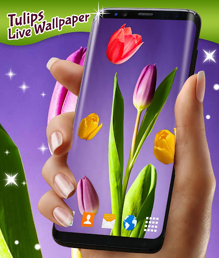 Tulip Magic Flowers ud83cudf37 Live Wallpapers HD Themes 5.2.3 screenshots 1