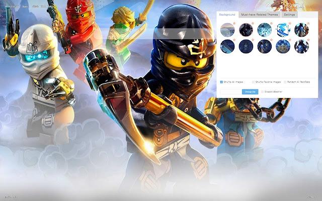 Lego Ninjago HD Wallpapers and New Tab
