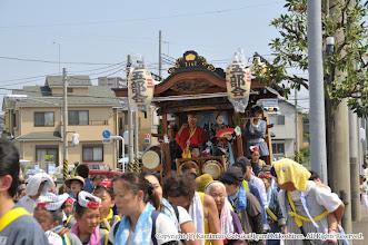 Photo: 【平成26年(2014) 本宮】 元町地区の氏子回りを行う山車。