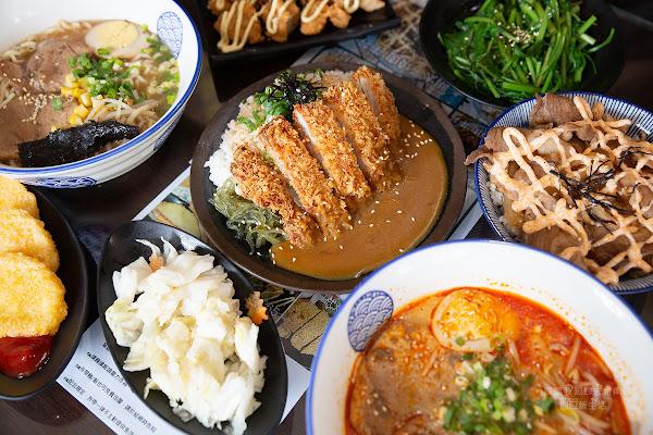 平價美味的拉麵、丼飯!! 可以無限加飯加麵吃到飽~大食量小資族最愛!旭一家拉麵、烏龍、丼飯、揚物