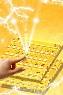 Luxurious Keyboard Theme - náhled