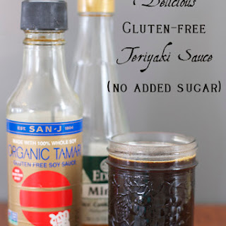 Simple Homemade Teriyaki Sauce.
