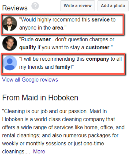 Maid in Hoboken - Reviews of Customers Who Recommend the Service