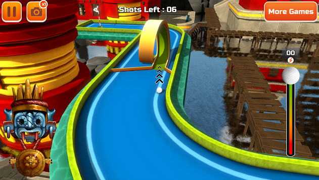 Mini Golf 3D City Stars Arcade apk screenshot