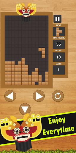 Tetris Bali - Game Tetris Bali Offline  screenshots 1