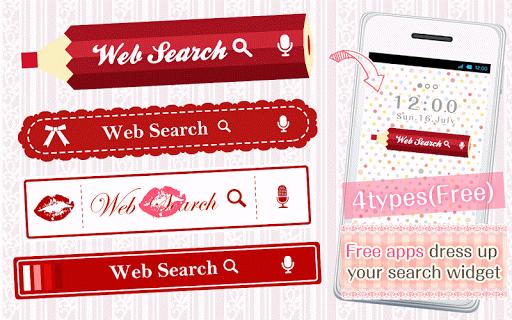 Kawaii Widget Red Collection