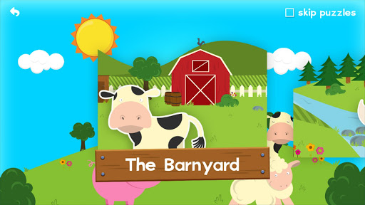 Farm Games Animal Games for Kids Puzzles for Kids  screenshots 2