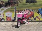"Bicikl 12"" Fantasy crni/pink"