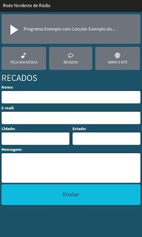 android Rede Nordeste de Rádio Screenshot 2
