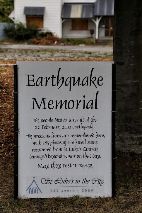 Earthquake Memorial - Christchurch