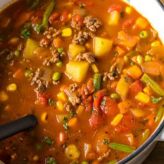 Hamburger Soup Ground Beef Recipes.