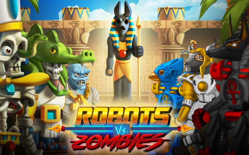 Robots Vs Zombies: Transform To Race And Fight