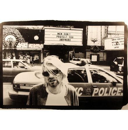 Kurt Cobain - Police Car- Poster