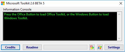 Chạy phần mềm Microsoft Toolkit