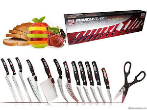Cutite profesionale Miracle Blade World Class 13 piese forjate la cald