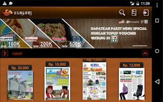 Screenshot of Wayang