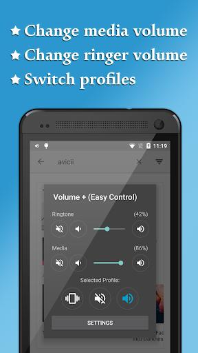 Volume + Easy Control