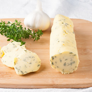 Garlic Thyme Compound Butter.