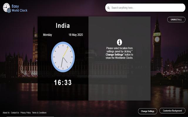 Easy World Clock