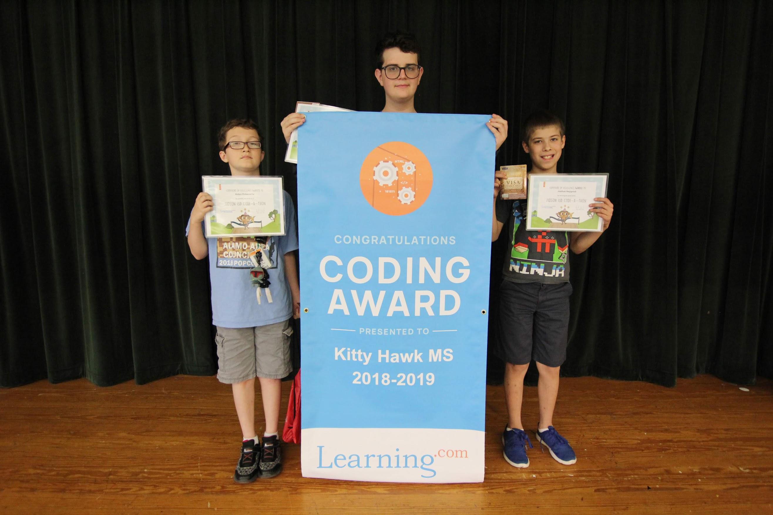 Code-A-Thon Winners