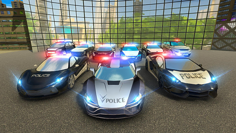 Download Real Police Gangster Car Chase: Driving Simulator Cheat APK MOD