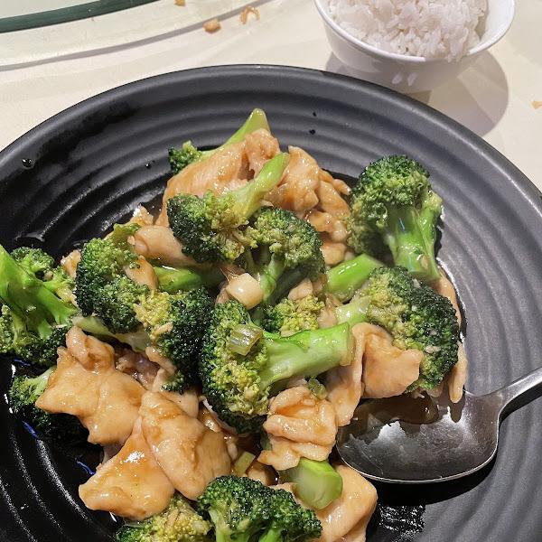 GF Chicken with Broccoli