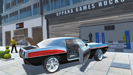 Muscle Car Simulator  captures d'u00e9cran 1