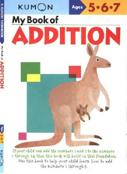 My Book of Addition: Ages 5-7 - Kumon Publishing