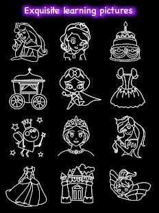Draw Glow Princess Screenshot