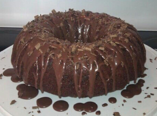 Chocolate-glazed Chocolate Bundt Cake Recipe