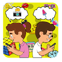 Idle Sticker Game - Free Stickers Collect them all icon