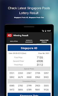 4D Winning Result- screenshot thumbnail
