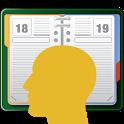 Migräne-Kalender einfach icon