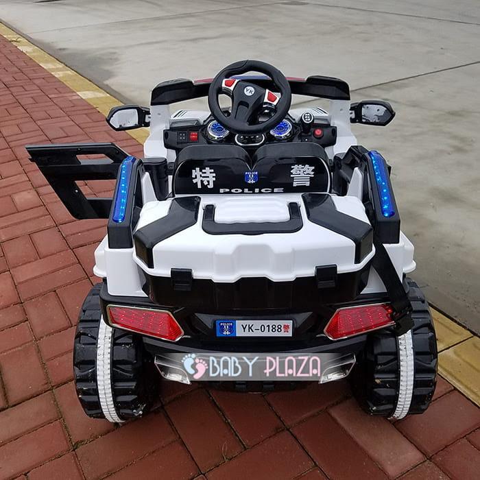 Xe oto điện cảnh sát Jeep YK-0188 6