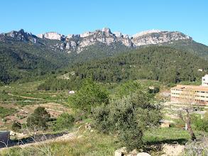 Photo: De dreta a esquerra els següents objectius: La Miranda (o lo Molló), la Creu (o Punta dels Frares), Punta de Fornells i el Cavall Bernat